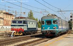 Tigre e Fanta (Niko Express) Tags: tigre fanta fs treviso treni ferrovie e652 ale801 ale940 e652003