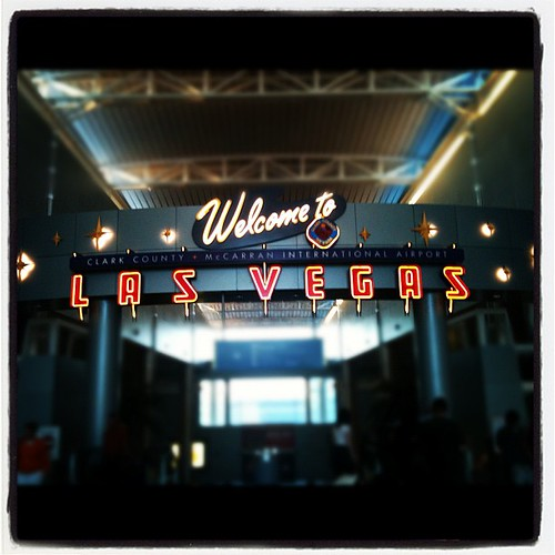 Welcome to Las Vegas #lasvegas #gate
