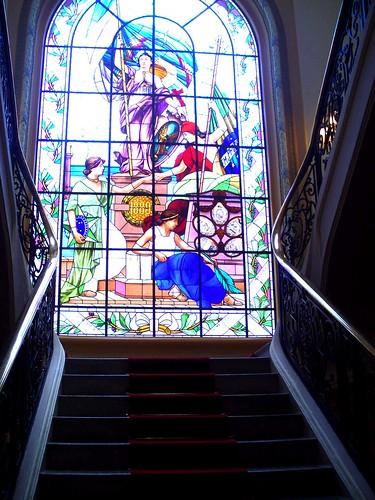 Vitral do palácio