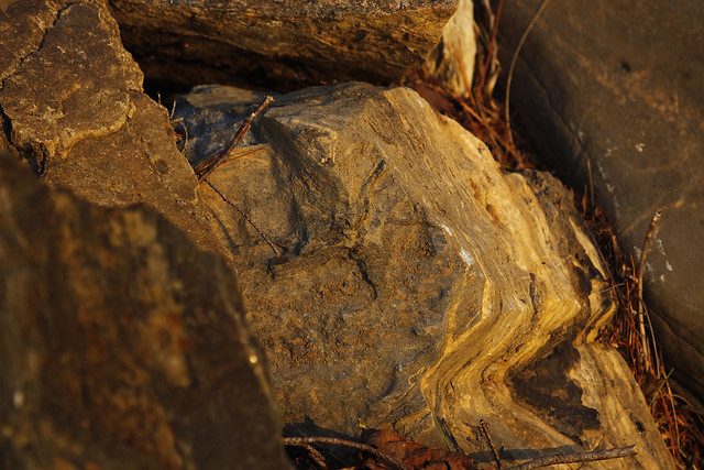 warm rocks
