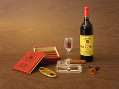 The Culture & Art of Red Wine Set #8 (MurderWithMirrors) Tags: miniature wine redwine bottleopener decanter icebucket mwm orcara thecultureartofredwine