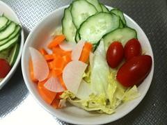 朝食サラダ(2011/10/02)
