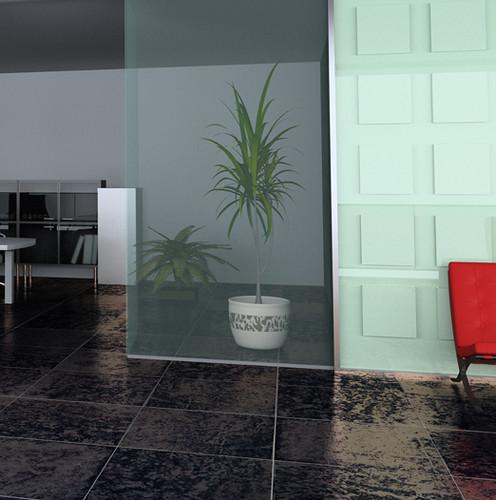 Koydol Resilient Tile Flooring: All-Slate Collection