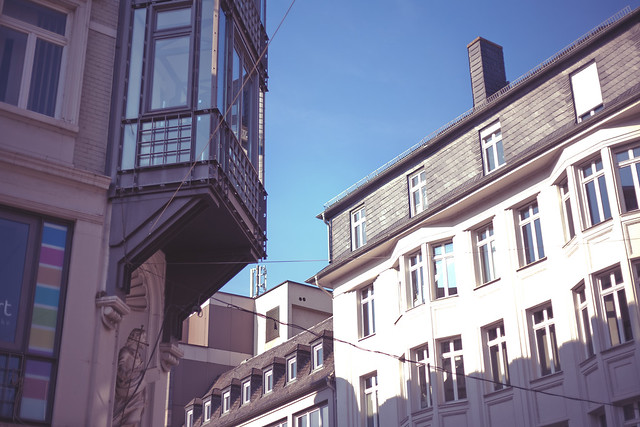 Sunny Autumn Day in Trier
