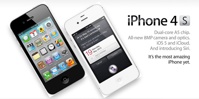 No iPhone 5, It's Apple iPhone 4S