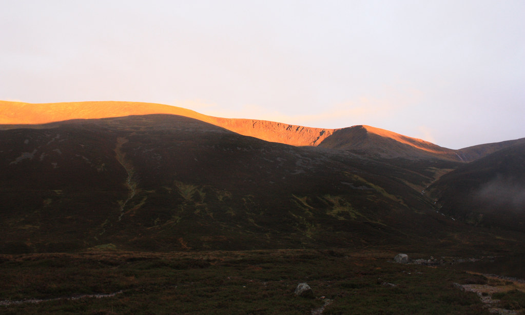 Last light on Braeriach
