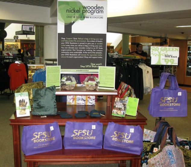 MBS Foreword Online - SFSU Bookstore Wooden Nickel Program