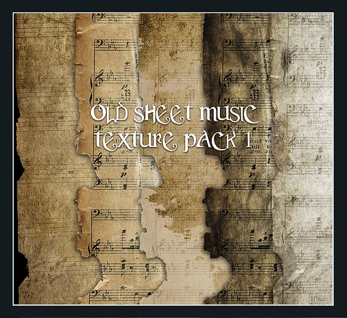Old Sheet Music Preview by ~Brenda-Starr~