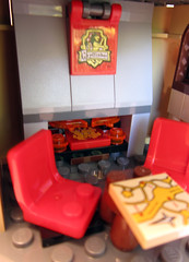 Hogwarts Castle - Fireplace