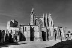 Eglise Saint Nazaire (Cyrco46) Tags: bw monochrome cit nb carcassonne eglise hdr stnazaire