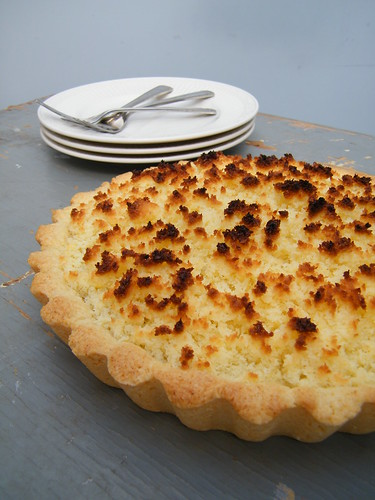 Tarta de Coco y Dulce de Leche | Coconut and Dulce de Leche Tart by katiemetz, on Flickr