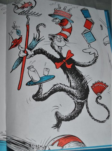 Cat in the Hat balancing act