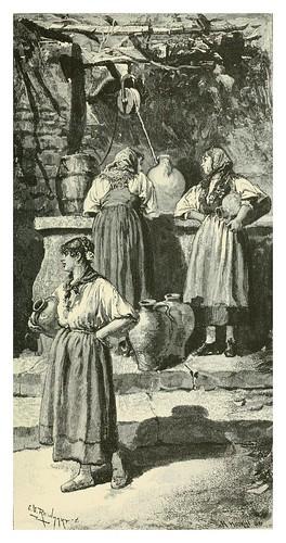 006-En una fuente en Toledo-Spanish vistas-1883- George Parsons Lathrop
