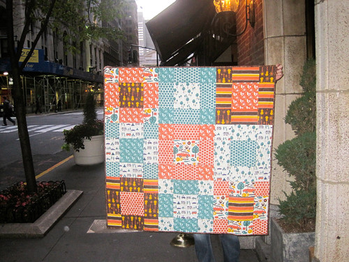 Little quilt, big city!