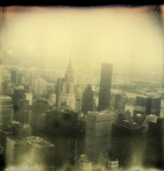 Manhattan Skyline (tobysx70) Tags: from new york nyc bridge toby ny color building slr tower skyline skyscraper project river observation ed polaroid island office cityscape state manhattan first roosevelt east deck tip shade empire highrise block chrysler flush hancock slr680 ff 680 impossible queensboro koch the px colorshade theimpossibleproject px680 680ff tobyhancock impossaroid
