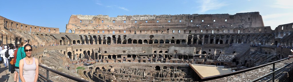 Colosseum panoramic