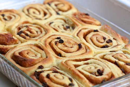 Cinnamon-Raisin Whirls