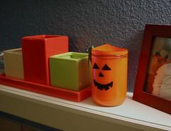 IC41-Pumpkin Candle Holder
