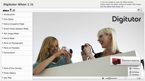 Nikon 1 J1 Digitutor