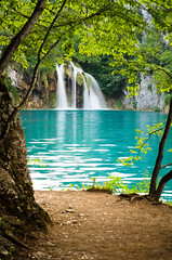 Plitvice Lakes National Park (Sergiu Bacioiu) Tags: park wood travel blue summer vacation mountain lake plant motion mountains color tree green fall tourism nature wet water grass rock stone forest river season landscape flow outdoors waterfall leaf nationalpark spring pond bush scenery colorful stream europe natural outdoor famous lakes scenic croatia landmark fresh unesco clean foliage national environment flowing lush splash karst cascade idyllic unescoworldheritage waterscape plitvice splashing plitvicka plitvicelakes plitvicelakesnationalpark plitvickajezera