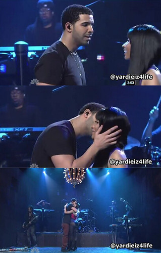 nicki minaj kissing drake on the lips wwwpixsharkcom
