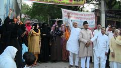Muslim women protest in Jaipur to demand ban on alcohol (TwoCircles.net) Tags: women protest hijab niqab burqa muslimwomen naqab dharna