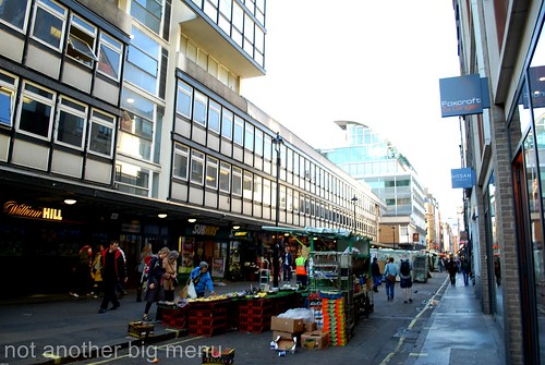 London views - Berwick Street, Soho
