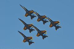 All together now (Images by John 'K') Tags: california airshow f18 blueangels usnavy fa18 fa18hornet johnk theblueangels d7000 lemoorenavalairstation flightdemonstrationsquadron johnkrzesinski lemooreairshow randomok cantralvalleyairshow