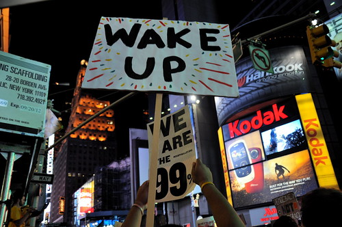 Wake Up! We are the 99%