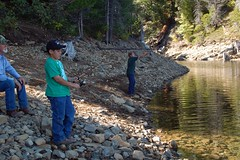 Fishing 024 (Cowgirl Jules) Tags: fishing trout cherrylake
