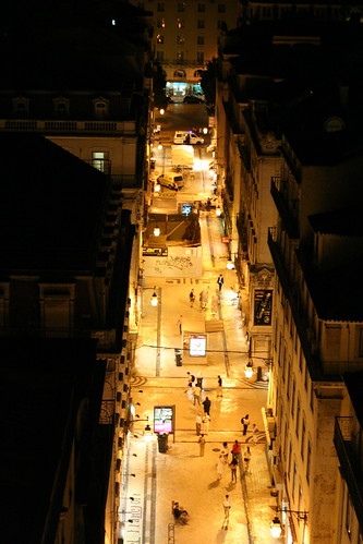 lisbon - night light