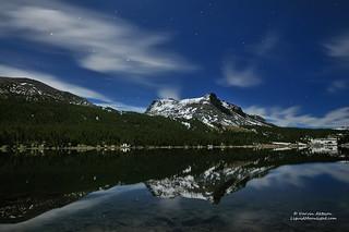 Orion Rises over Lake Tioga, Yosemite National Park