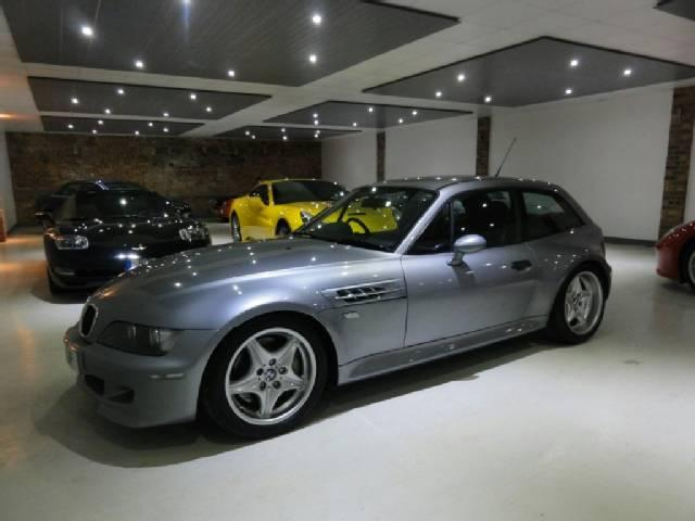 2000 S62B50 BMW M Coupe | Silver Grey | Black
