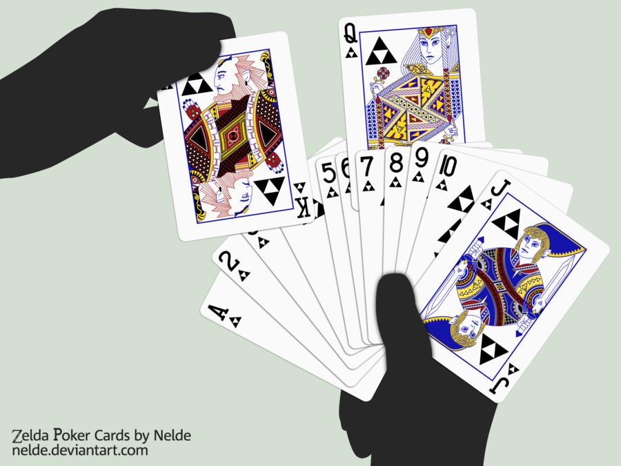 Cartas de póquer de Zelda