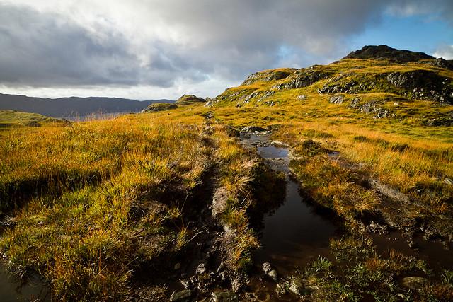 The muddy approach to Peanmeanach
