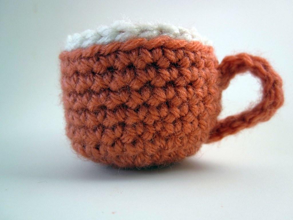 amigurumi tea cup
