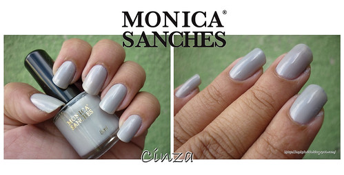 Monica Sanches - Cinza