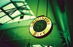 Schultheiss Bier (Kuusela photography) Tags: berlin green film analog lomo lca xpro cross fujifilm analogue tones provia processed 100f