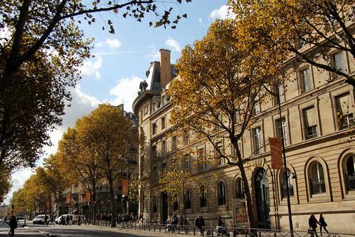 Saint Michel Paris France Boulevard Saint-michel Paris