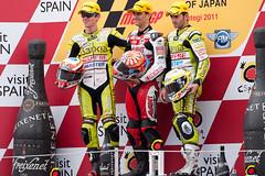 Congratulations Johann !! (T.Tanabe) Tags: japan grand prix motogp motegi 500mmf4dii zarco 2011 faubel terol ツインリンクもてぎ gp125 日本グランプリ nikond3 grandprixofjapan hectorfaubel nicolasterol テロル johannzarco ニコラス・テロル サルコ ヨハン・サルコ ファウベル ヘクトル・ファウベル