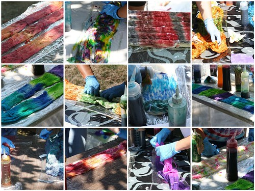 Knitspiration Dye Day 2011