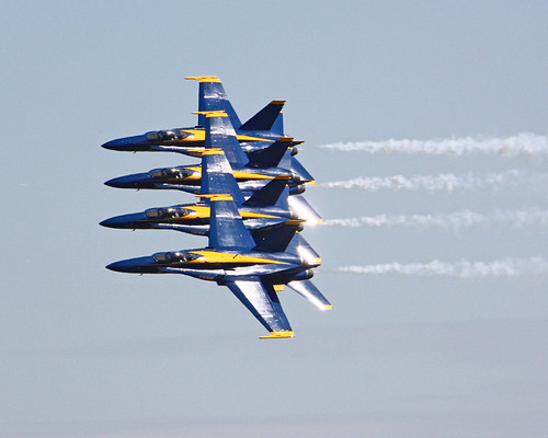 Lincoln Nebraska Airshow 2011 with The Blue Angels