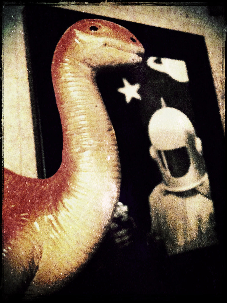 74. Dinos & Spacemen!