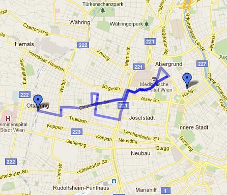 2010 laboratoire dérive Wien-Team 1 Route
