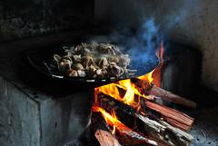 Carne de Porco (De Santis) Tags: brazil food tree brasil fruit 35mm fire nikon cookie bokeh farm smoke comida fruta sp paulo fogo árvore biscoitos são chacara sitio fazenda fumaça jabuticaba d3000 bolachs