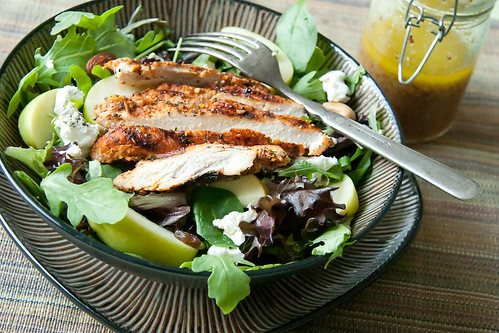 Fall Grilled Chicken Salad