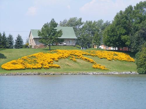 Flower bank