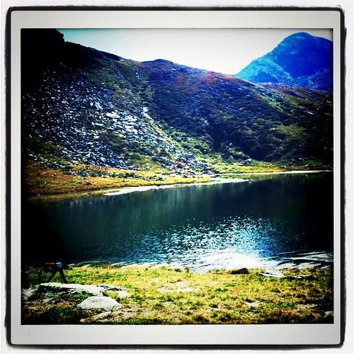 Il lago dell'uomo a Prali