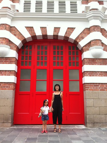 the beautiful Central Fire Station building