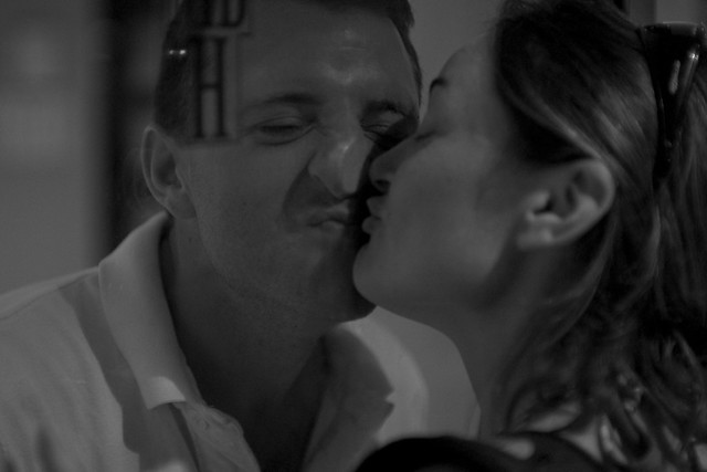 greg and liv kiss